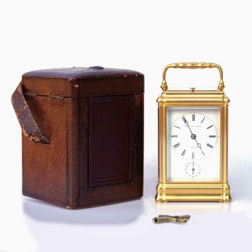 十九世纪Aubert & Klaftenberger手提旅行钟